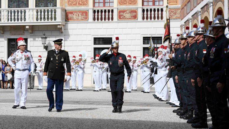 Monaco: Cambio ai Vertici della Forza Pubblica, e dei Sapeurs-Pompiers di Monaco. La Cerimonia Ufficiale nella Corte d'Onore del Palazzo (il comunicato).