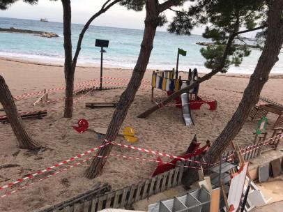 Monaco si Mobilita per la Nuova Allerta Meteo e Conta i Danni della Mareggiata a Larvotto