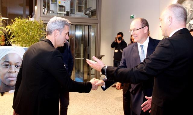 Beausoleil: il Principe Alberto Inaugura il Centro Culturale che Porta il Nome del Figlio