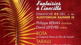 Fantasie a Cinecittà: la Musica Incontra il Cinema Italiano nel Concerto dell'OPMC