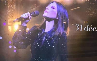 Laura Pausini in concerto per il veglione di capodanno a Monte Carlo