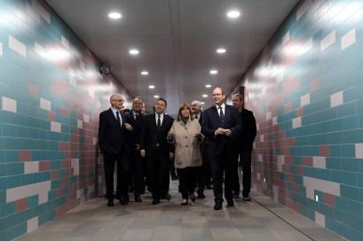 Nuovo Accesso Pedonale Sotterraneo alla Stazione di Monaco, la Seconda Più Frequentata della Costa Azzurra