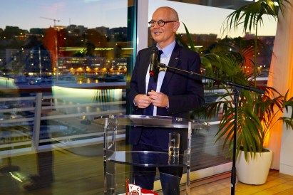 Monaco: Auguri per il Nuovo Anno di Serge Telle alla Stampa