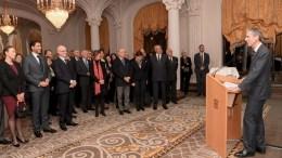 Gli Auguri di Gilles Tonelli al Corpo Diplomatico e Consolare a Monaco
