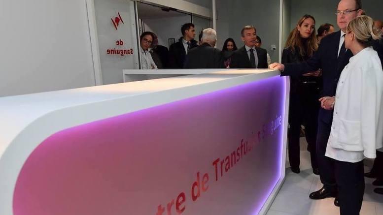 Monaco: Inaugurazione del Nuovo Laboratorio e del Centro per la Trasfusione di Sangue del C.H.P.G.