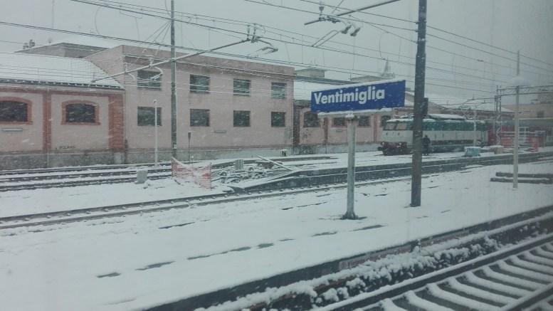 Un Anno fa la Neve Nella Riviera Ligure e Costa Azzurra
