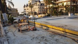 Ultimi Ritocchi sulla Piazza del Casinò di Monte Carlo