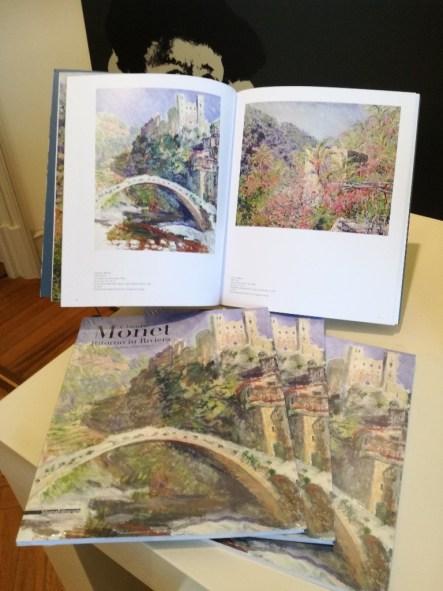 Catalogo della mostra: Claude Monet Ritorno in Riviera
