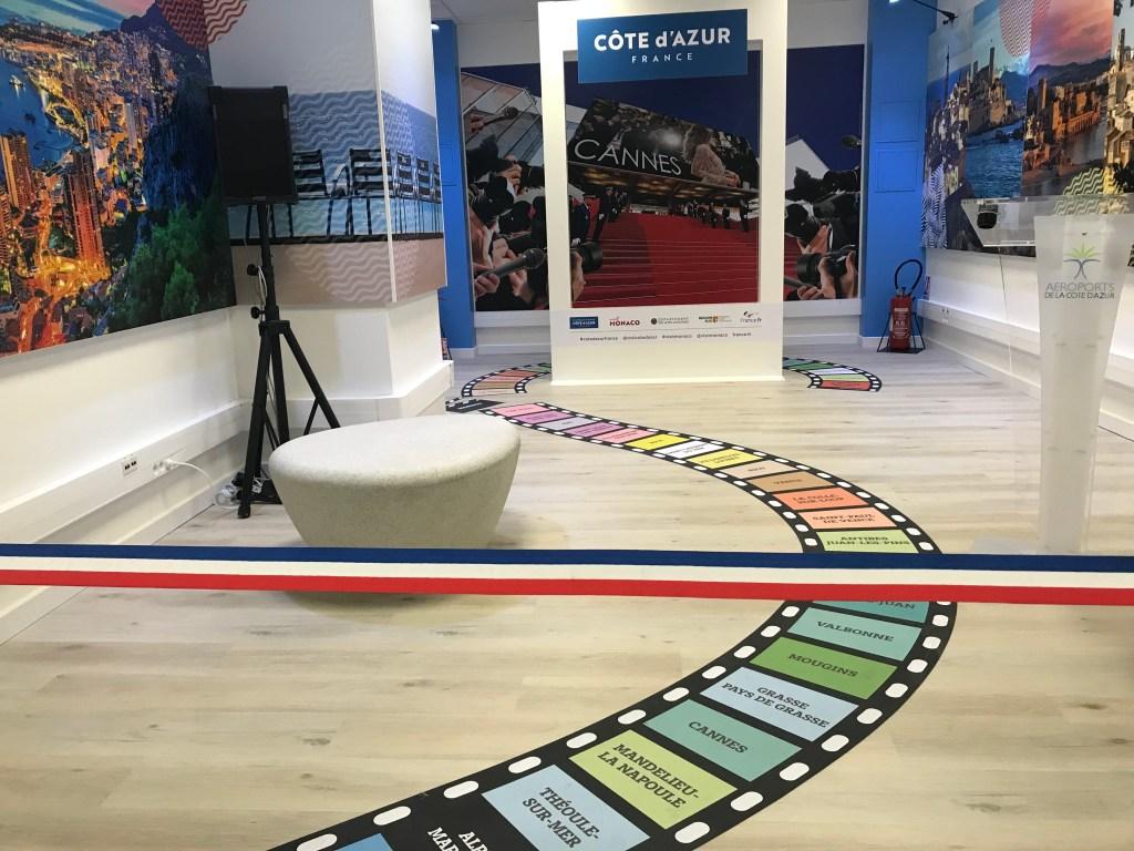 Nuova area di accoglienza Costa Azzurra / Monaco all'Aeroporto di Nizza