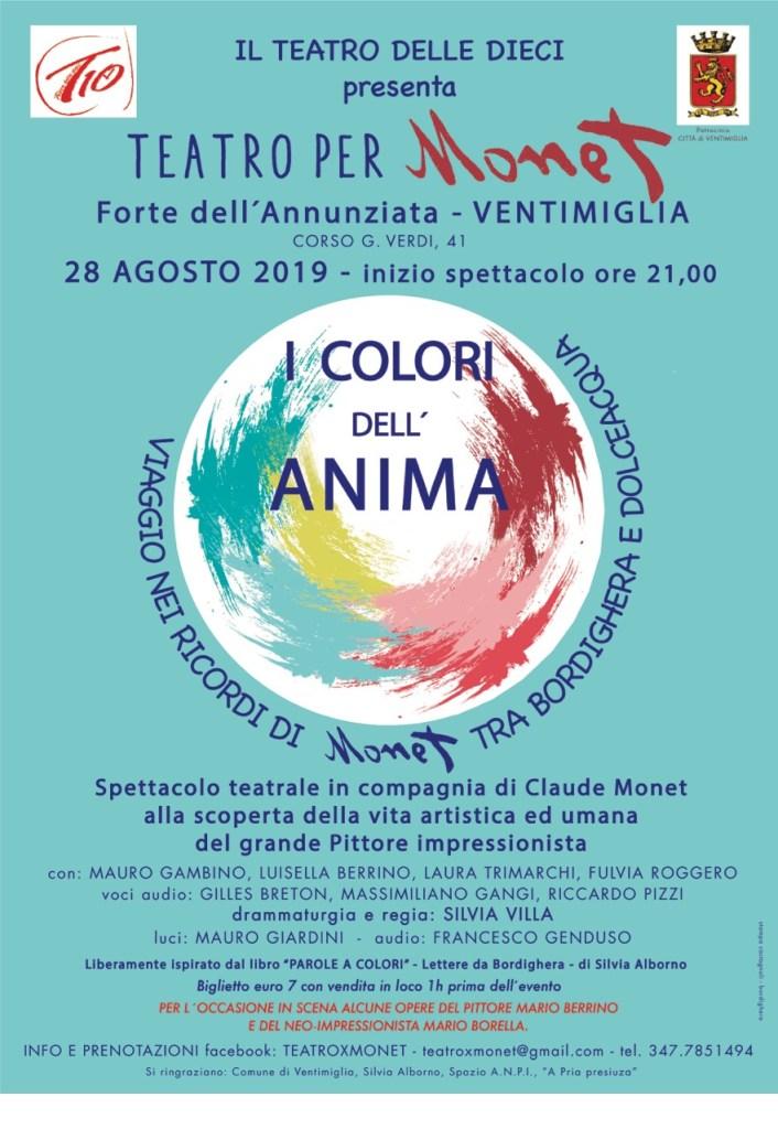 Ventimiglia: Successo per il Viaggio Teatrale nei Ricordi di Monet