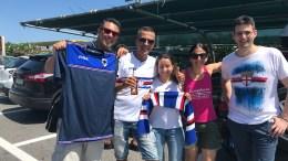 Tifosi della Sampdoria Verso Monaco per la Partita Amichevole al Louis II