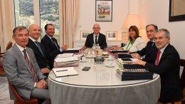 Primo Consiglio di Governo per il Nuovo Ministro degli Esteri di Monaco Laurent Anselmi