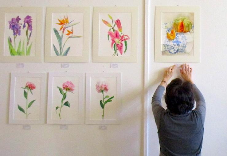 Italiane a Nizza: Cinzia Corbetta, l'Arte come Espressione di Bellezza e come Terapia