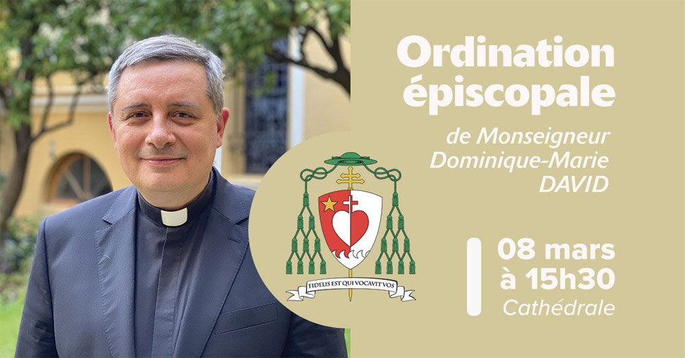 Monaco: Ordinazione del Nuovo Arcivescovo Dominque Marie David