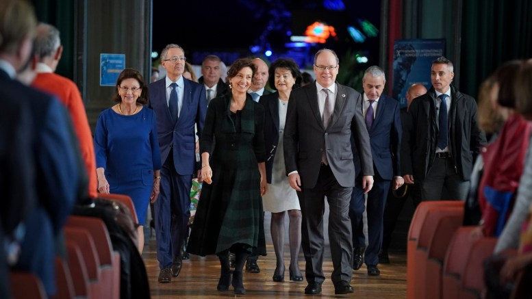 Il Principe Alberto Apre Gli Incontri Internazionali Monaco e il Mediterraneo