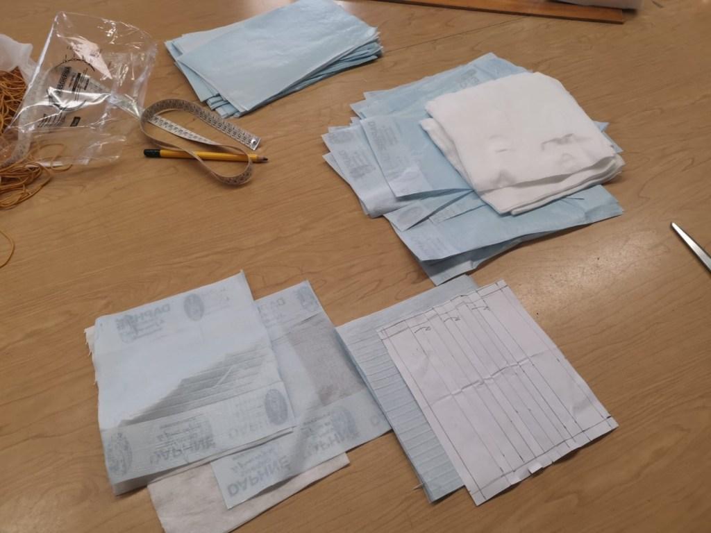 Coronavirus: 700 Mascherine Realizzate da Daphné di Sanremo