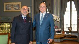 Cristiano Gallo: Udienza di Congedo dal Principe Alberto di Monaco