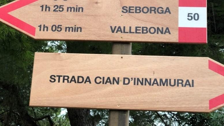 """Avanza la Rete Sentieristica del Montenero (Bordighera) """"per un pubblico sempre più attento ai valori di sostenibilità ambientale"""""""