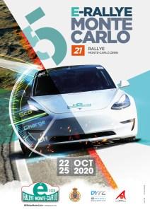 LOCANDINA E RALLYE MONTE CARLO 2020