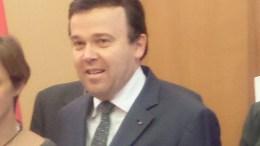 Stéphane Valeri Presidente del Consiglio Nazionale di Monaco Positivo al Covid-19