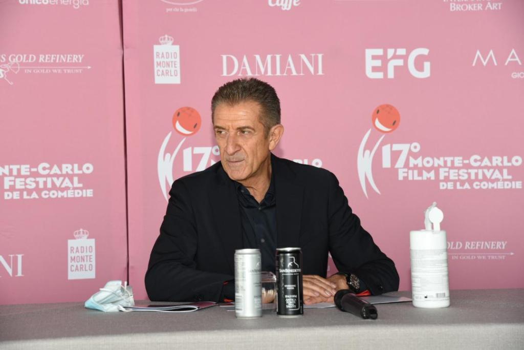 Ezio Greggio Monte Caro Film Festival 2020