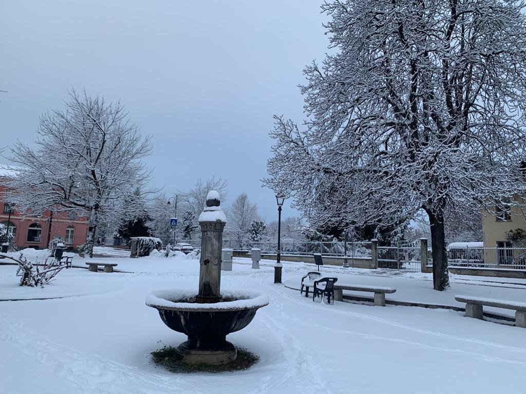 Neve e Maltempo nel nord Italia (Cuneo)