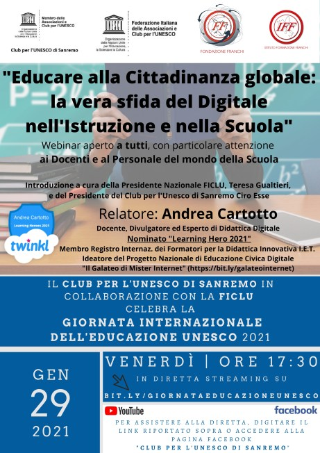 Giornata Internazionale DellEducazione Unesco Sanremo 2021 Page 0001