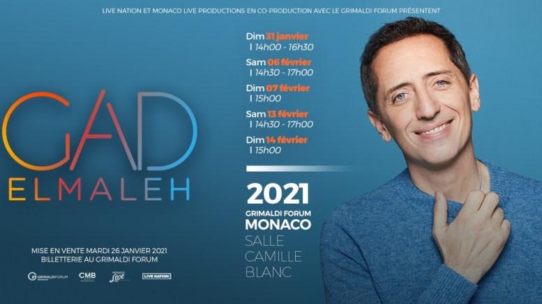 Gad Elmaleh Otto Rappresentazioni a Monte Carlo