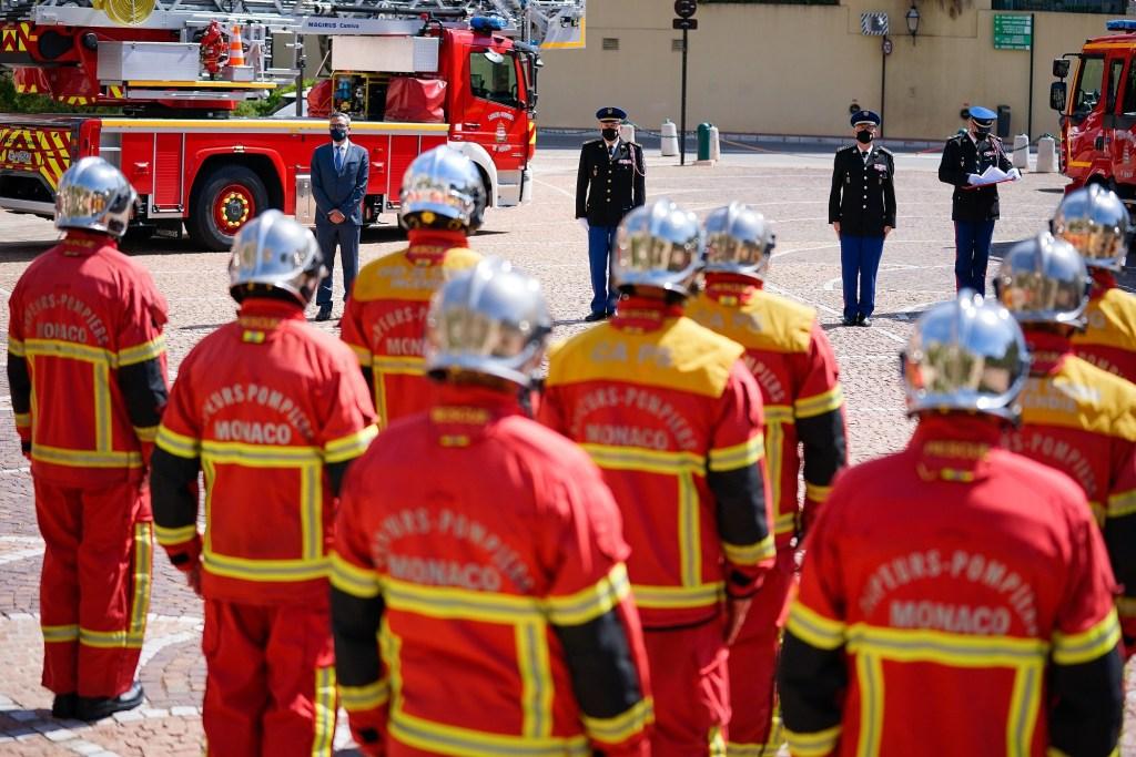 Cerimonia dei Pompieri del Principato di Monaco