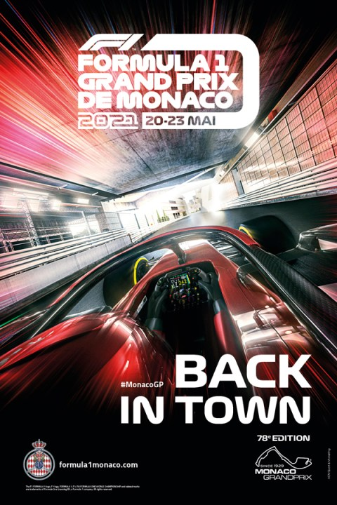 Monaco Gran Premio 2021 Locandina