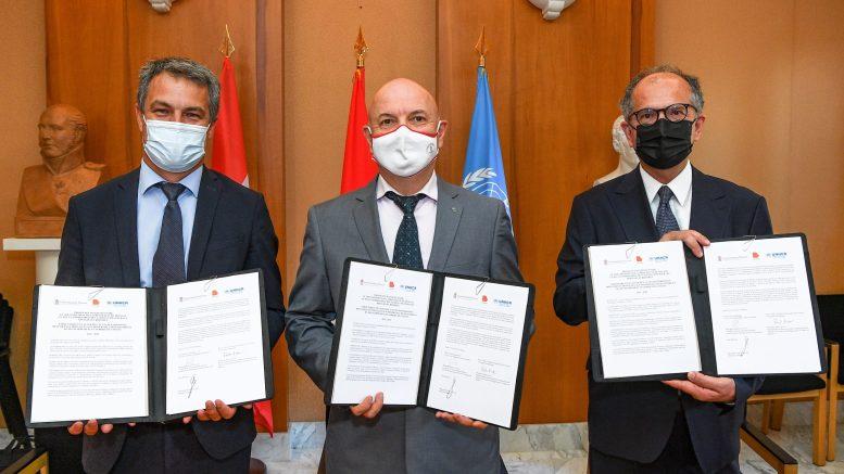 Accesso dei Rifugiati alle Professioni Umanitarie, Patto d'Intesa fra Monaco l'Alto Commissariato delle Nazioni Unite per i Rifugiati (HCR) e Bioforce
