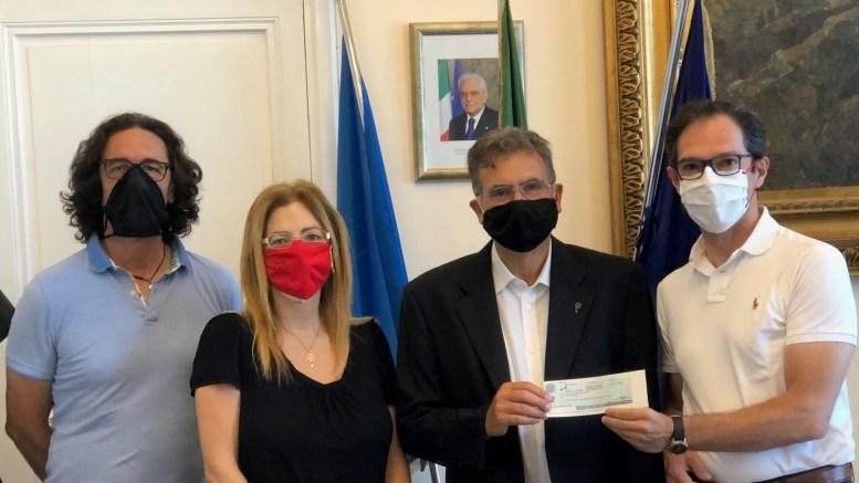 Alla Chiesa Evangelica Valdese il Fondo di Solidarietà della Giunta Comunale di Bordighera