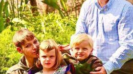 La Principessa Charlene di Monaco con il Principe Alberto e i Figli in Sudafrica
