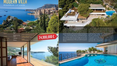 Photo of Roquebrune-Cap-Martin: Modern Villa