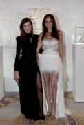 Federica Moro with Sandrine Garbagnati