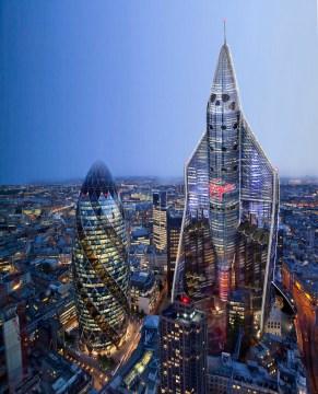 Virgin Galactic-shaped skyscraper