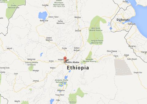 Addis Ababa in Ethiopia
