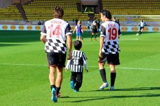 Fernando Alonso, Felipinho and Felipe Massa