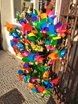 Colorful windmills, memories of childhood @CelinaLafuenteDeLavotha