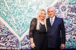 Monika Bacardi and Adriano Ribolzi