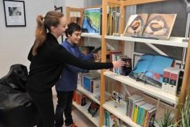 Spanish language students Pauline and Inigo in the Rincon de Borges @Manu Vitali Monaco Press Center
