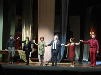 A Florentine Tragedy curtain call @CelinaLafuenteDeLavotha