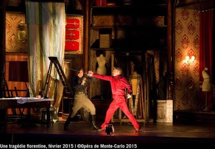 Simone fighting with Guido Bardi @ OMC