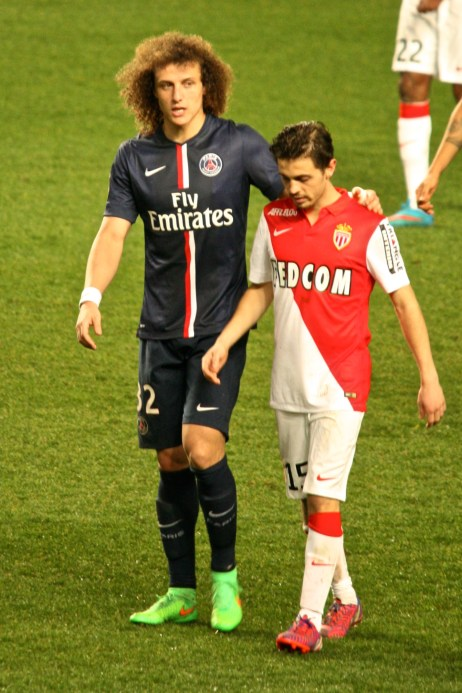 David Luiz and countryman Bernardo Silva @CelinaLafuenteDeLavotha