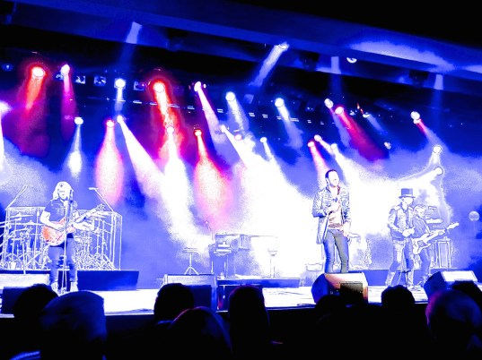 Lionel Richie and his band at the Salle des Etoiles at Sporting in Monte-Carlo @CelinaLafuenteDelavotha