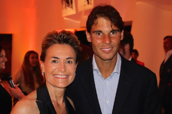 Celina with Rafa @Benito