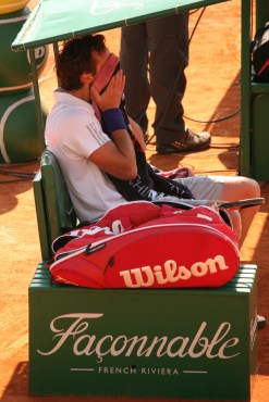 Ernests Gulbis was not in top form @CelinaLafuenteDeLavotha