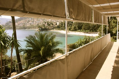 The magnificent sea view from the covered terrace @CelinaLafuenteDeLavotha 05/2015