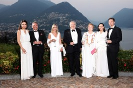 Sandrine Garbagnati-Knoell, Gianandrea Rimoldi Consul of Monaco in Lugano, Marco and Donia Gambazzi and Eduardo and Cristina Cavazza @5SE