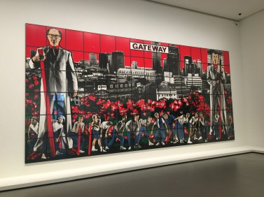 Gateway Gilbert and George at FLV @CelinaLafuenteDeLavotha2015